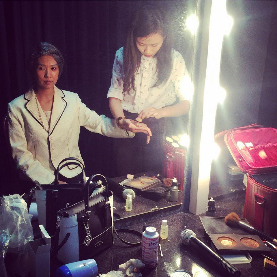 nhân viên trang điểm Linh Killdy Makeup Store