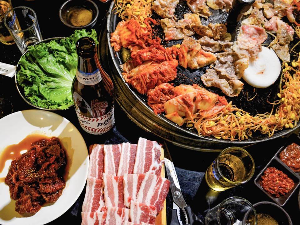món nướng tại quán Jeju Korean BBQ ảnh2