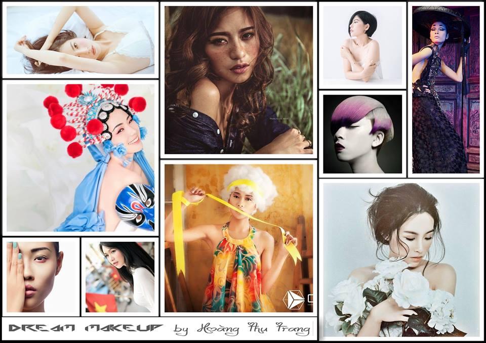 phong cách trang điểm Dream Makeup by Hoàng Thu Trang