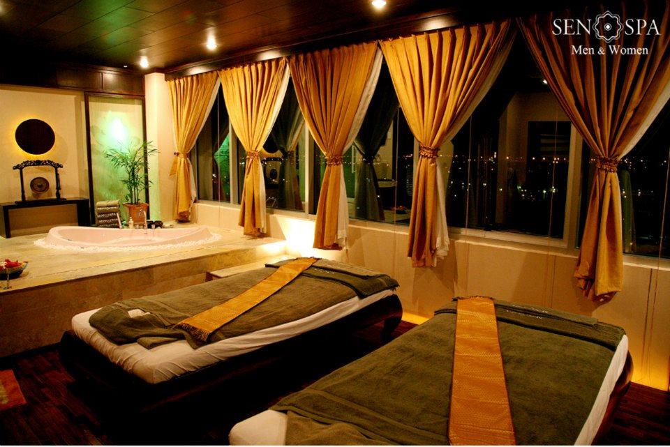 phòng massage sen spa
