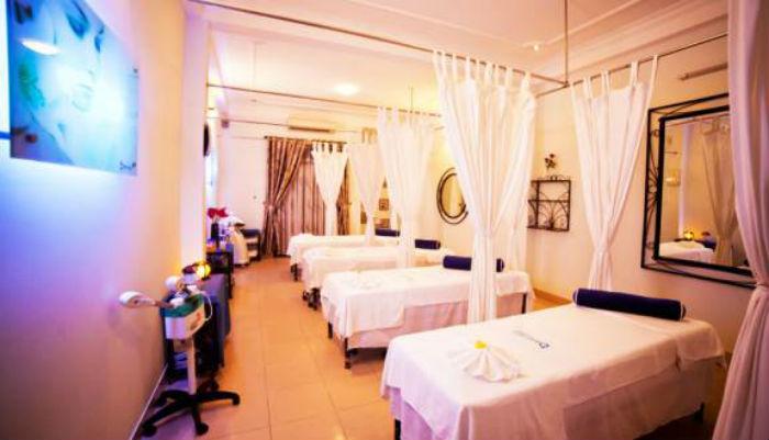 phòng massage tại belas spa
