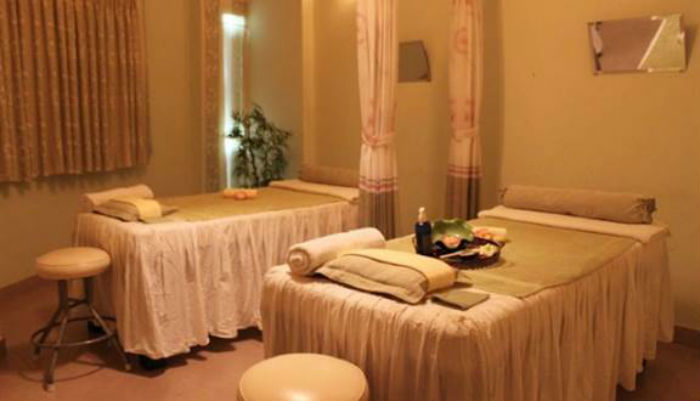 phòng massage tại anam qt spa