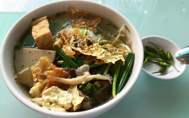 Quán Chay An Khang menu