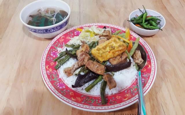 Quán Chay An Khang thức ăn