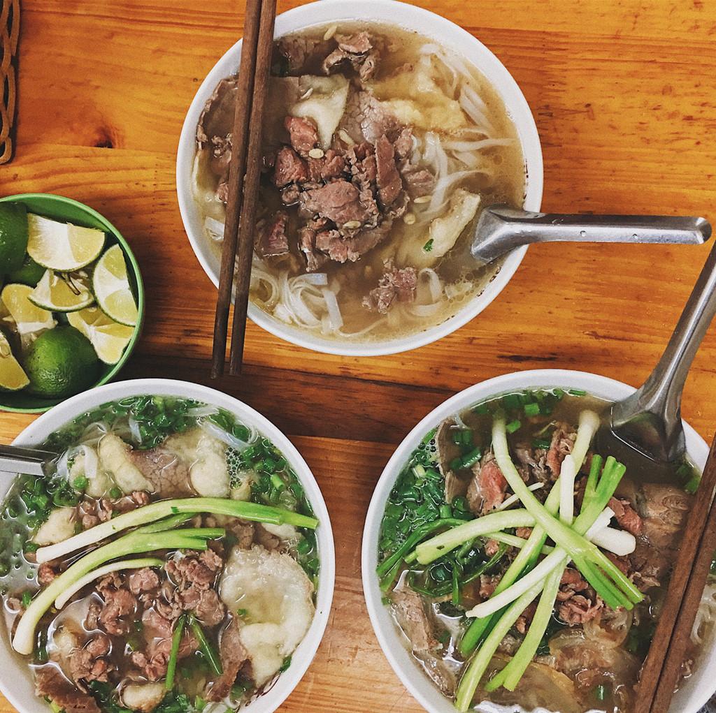 TOP 10 quán phở ngon nhất ở Hà Nội mà bạn không thể bỏ qua