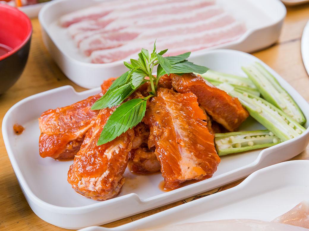 sườn nướng quán ChinKu BBQ