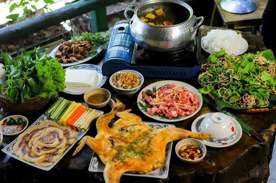 Tân Lương Sơn món ăn