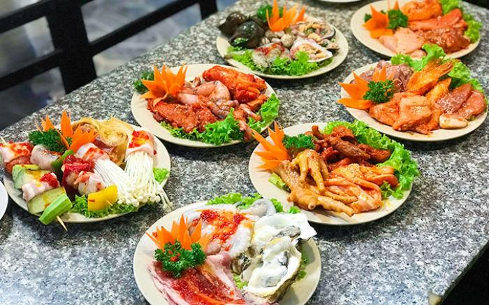 thực đơn buffet Chú Tèo ảnh1