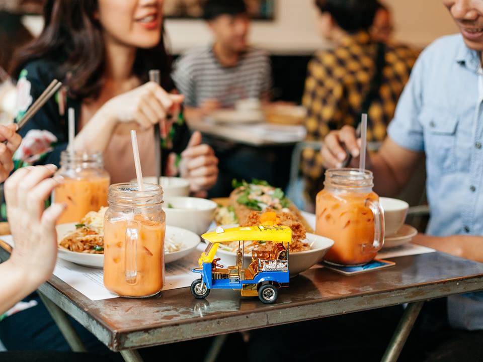 thực đơn các món ăn tại TukTuk Thai Bistro ảnh1