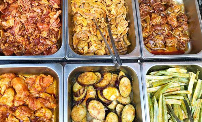 thực đơn quán Mặt Trời Đỏ Buffet BBQ ảnh2