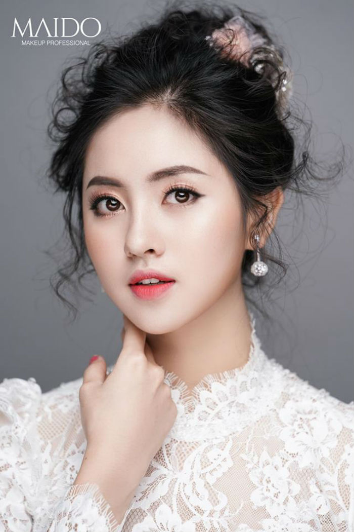 trang điểm cô dâu Mai Đỗ Make Up 4