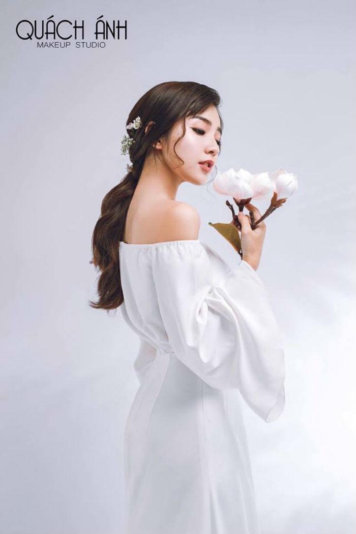 trang điểm cô dâu Quách Anh Makeup 1