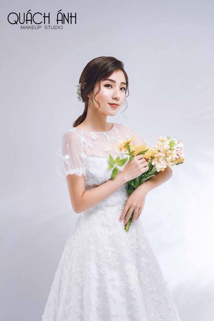 trang điểm cô dâu Quách Anh Makeup 2