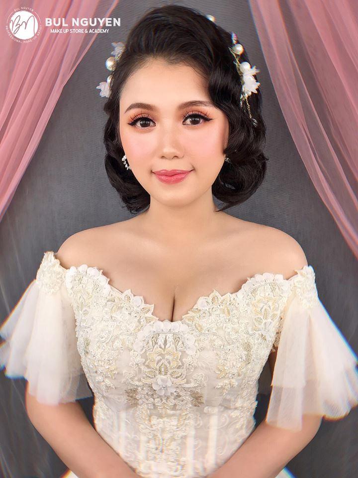 trang điểm cô dâu tại Bul Nguyễn Make Up Store