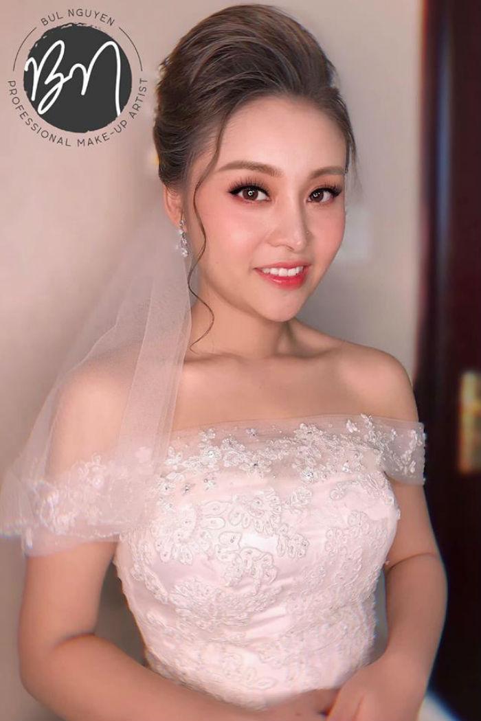 trang điểm cô dâu tại Bul Nguyễn Make Up Store 2