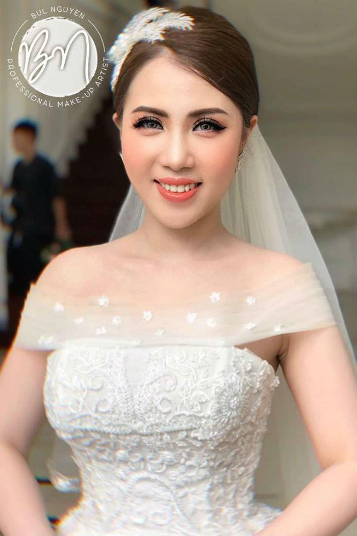 trang điểm cô dâu tại Bul Nguyễn Make Up Store 3