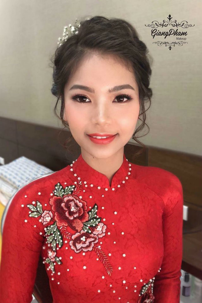 trang điểm cô dâu tại Giang Phạm Makeup 2