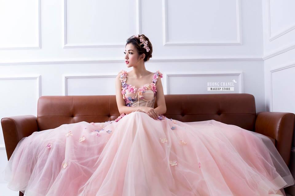 trang điểm cô dâu tại Makeup Hương Chane