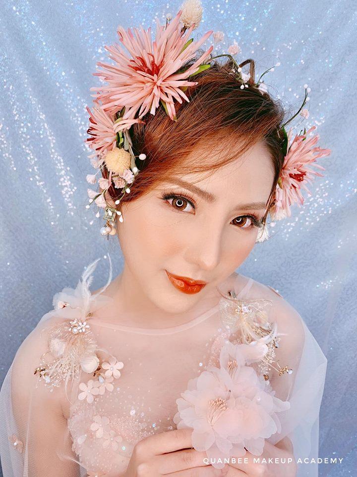 trang điểm cô dâu tại Quanbee Make-Up