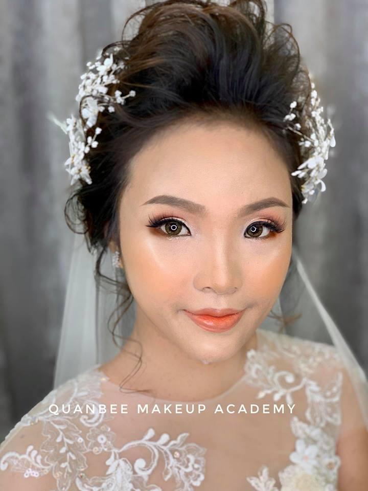 trang điểm cô dâu tại Quanbee Make-Up 1