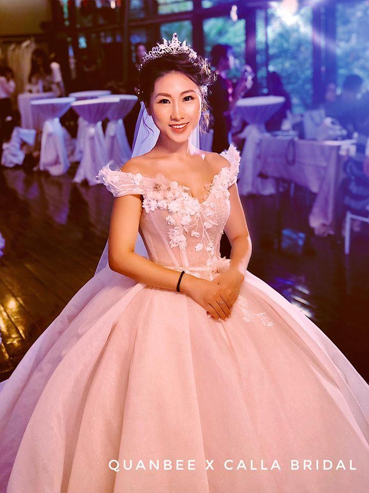 trang điểm cô dâu tại Quanbee Make-Up 2