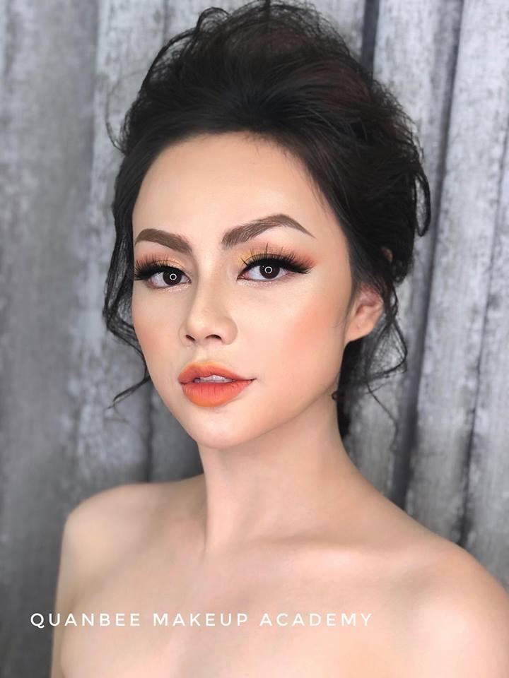 trang điểm cô dâu tại Quanbee Make-Up 3
