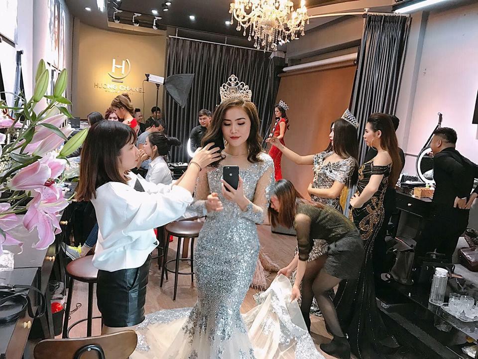 trang điểm dạ hội tại Makeup Hương Chane 1