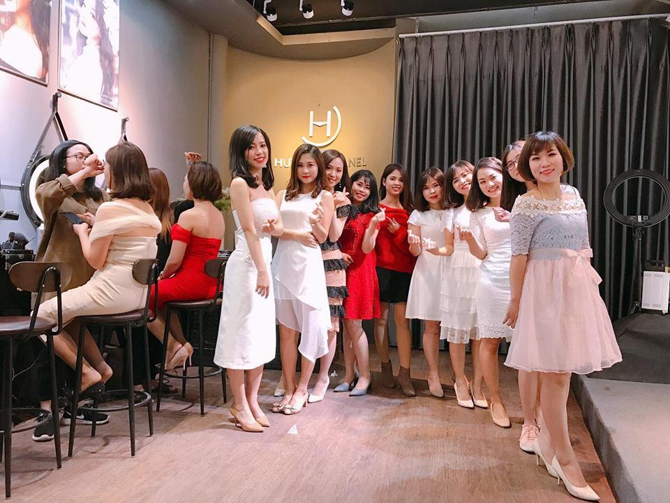 trang điểm dạ hội tại Makeup Hương Chane 2