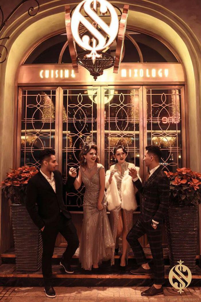 trang điểm dự hội tại Bul Nguyễn Make Up Store