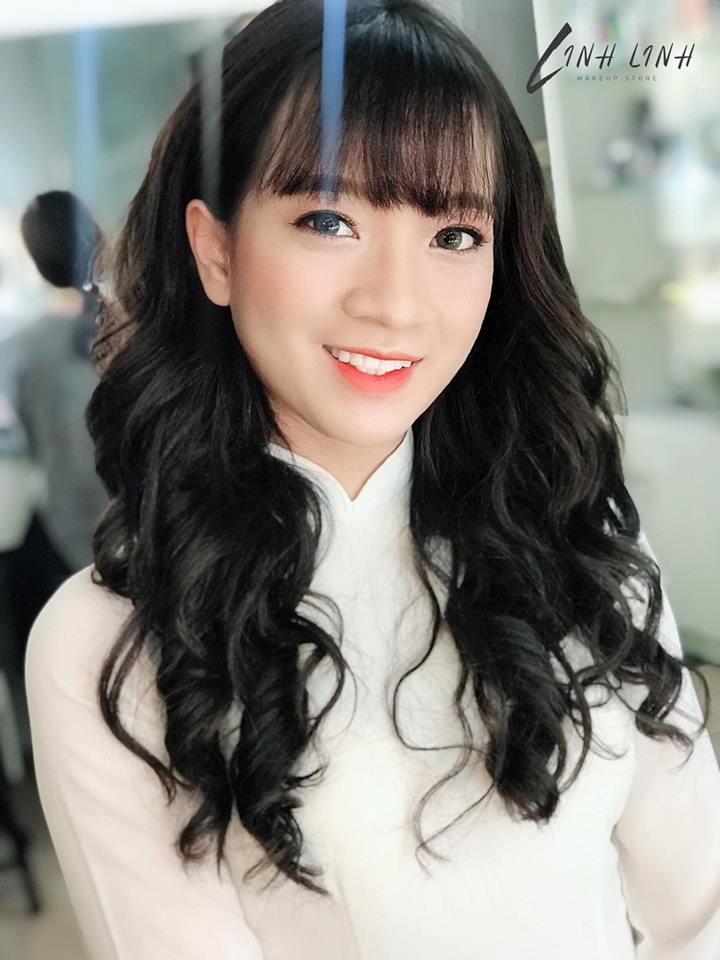 trang điểm kỷ yếu tại Linh Linh Makeup Store