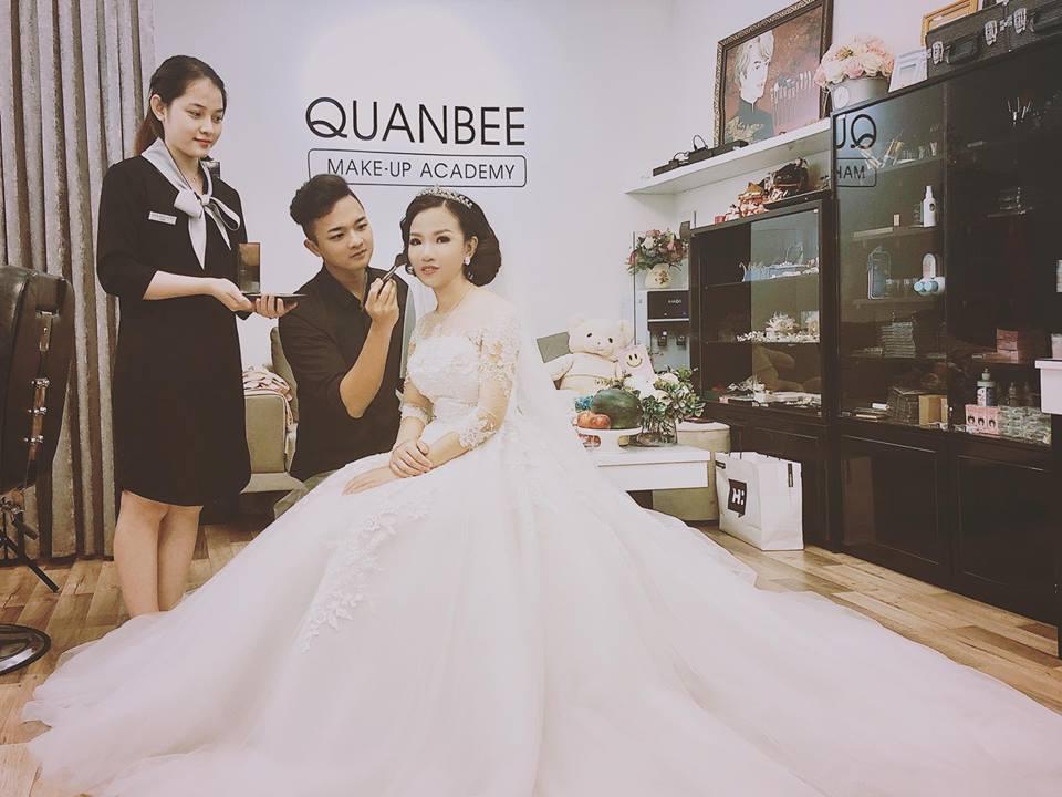 trang điểm tại nhà Quanbee Make-Up