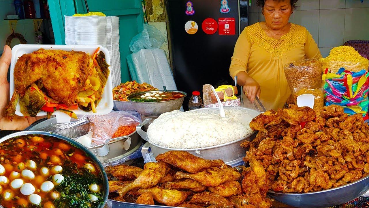 Xôi gà chợ Tân Mỹ