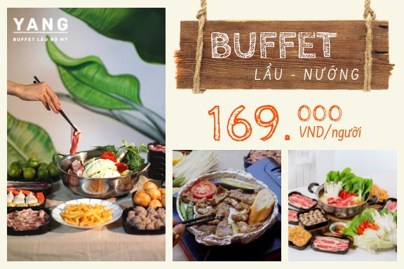 Yang buffet menu 169k