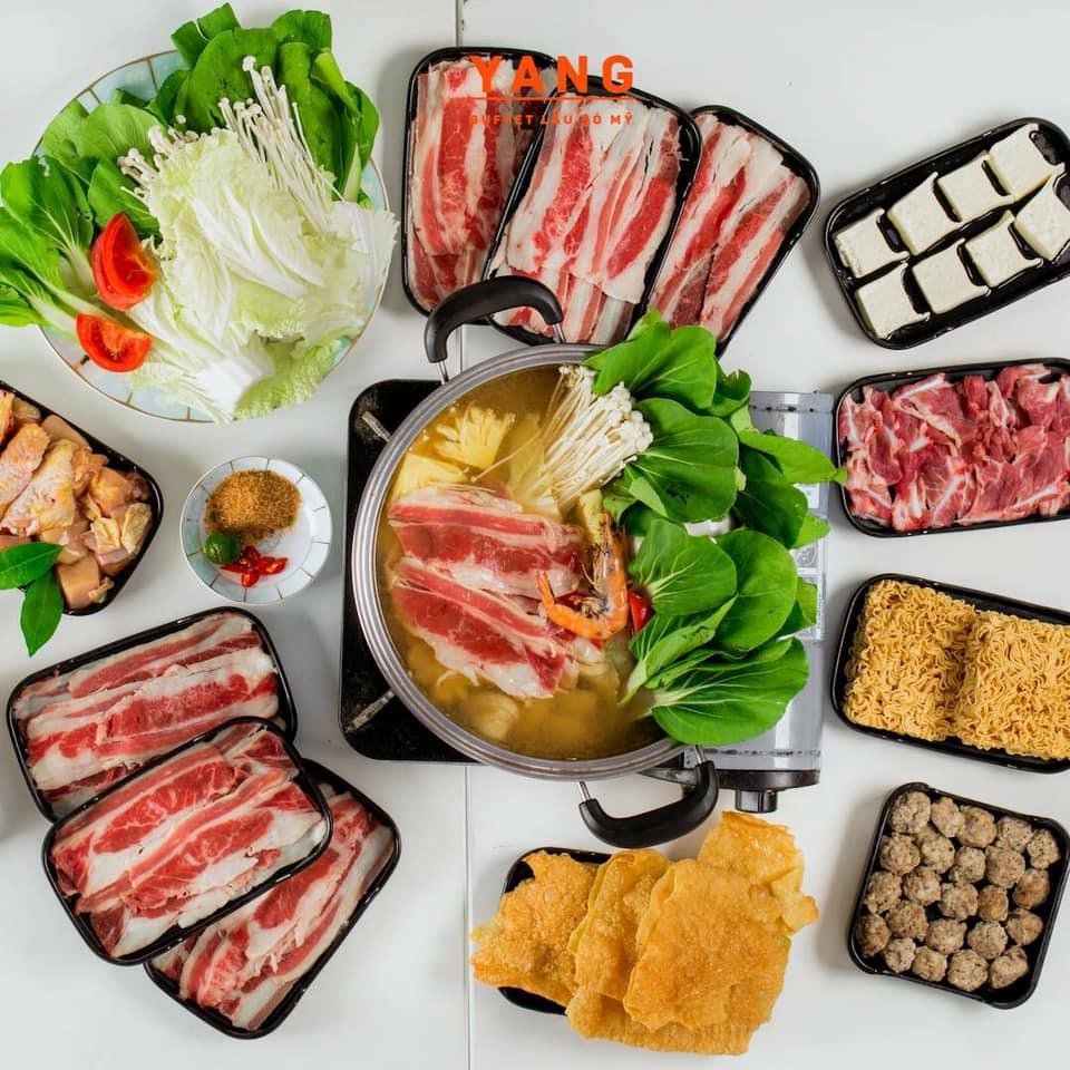 Yang buffet món ăn