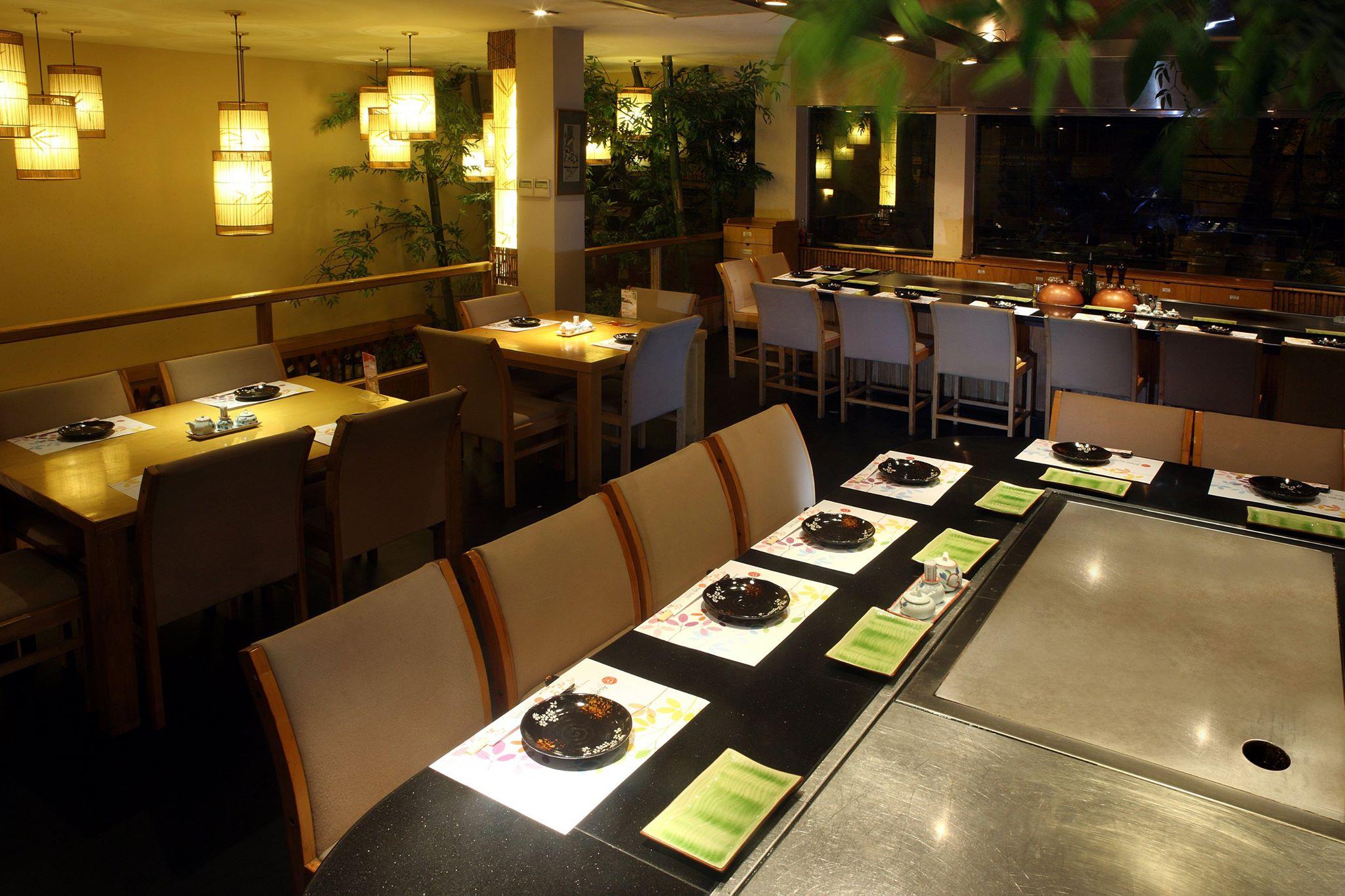 Asahi Sushi không gian