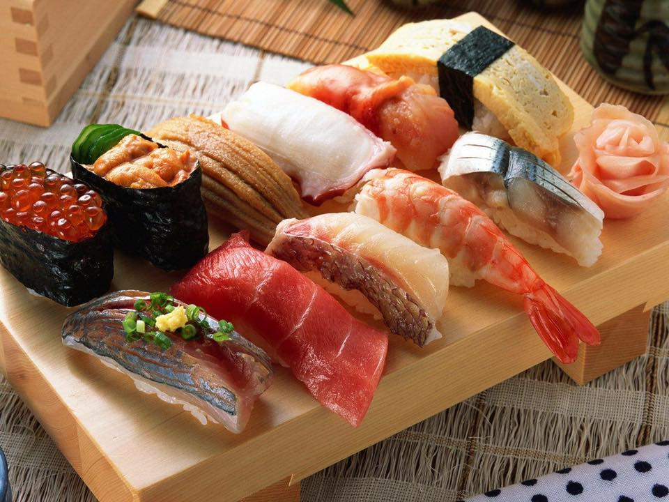 Asahi Sushi thức ăn