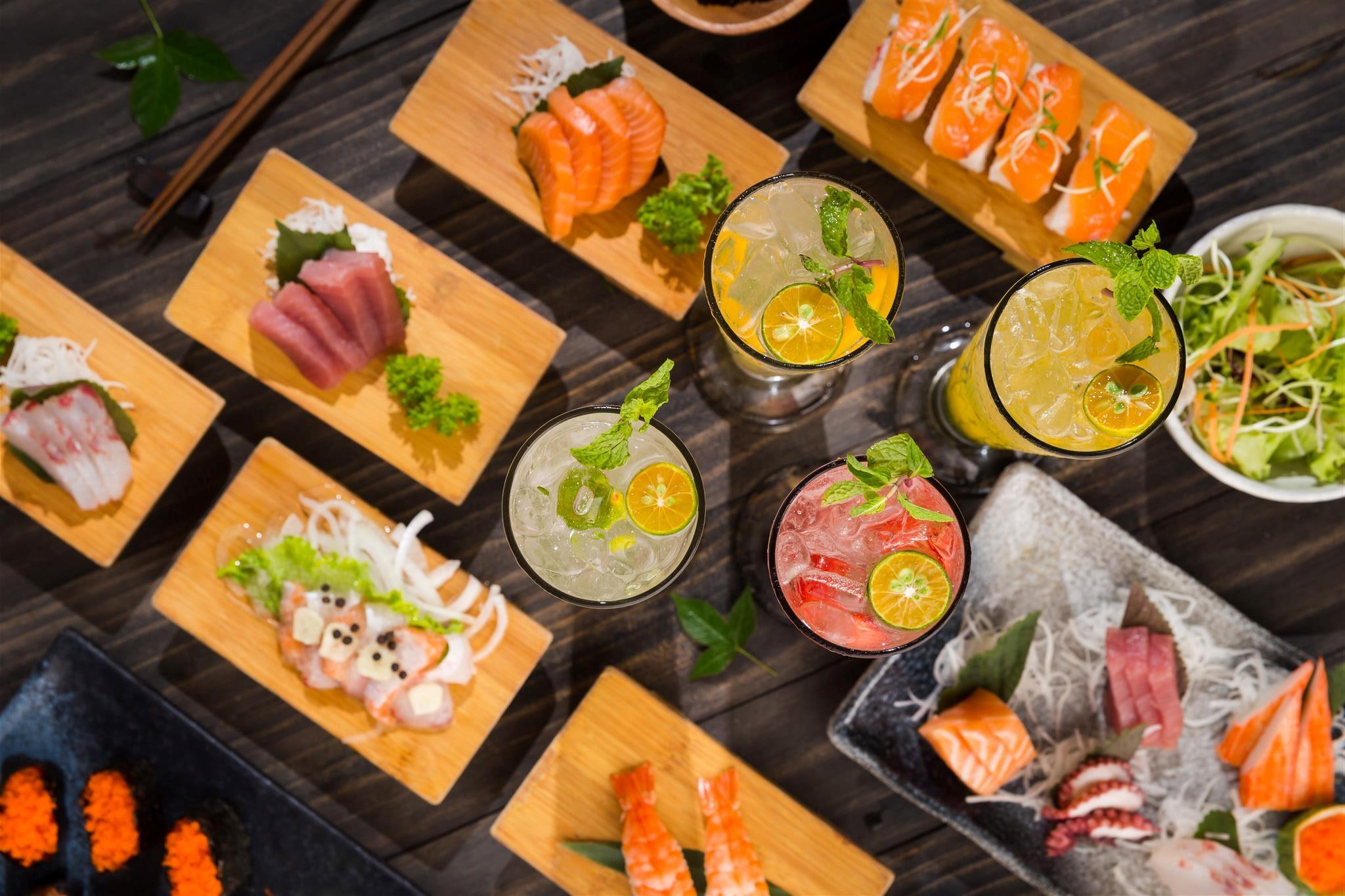 Isushi món ăn