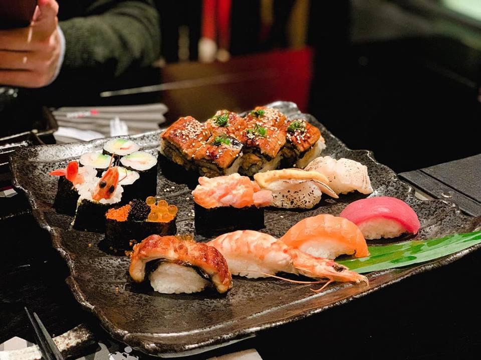 Kisu Sushi món ăn