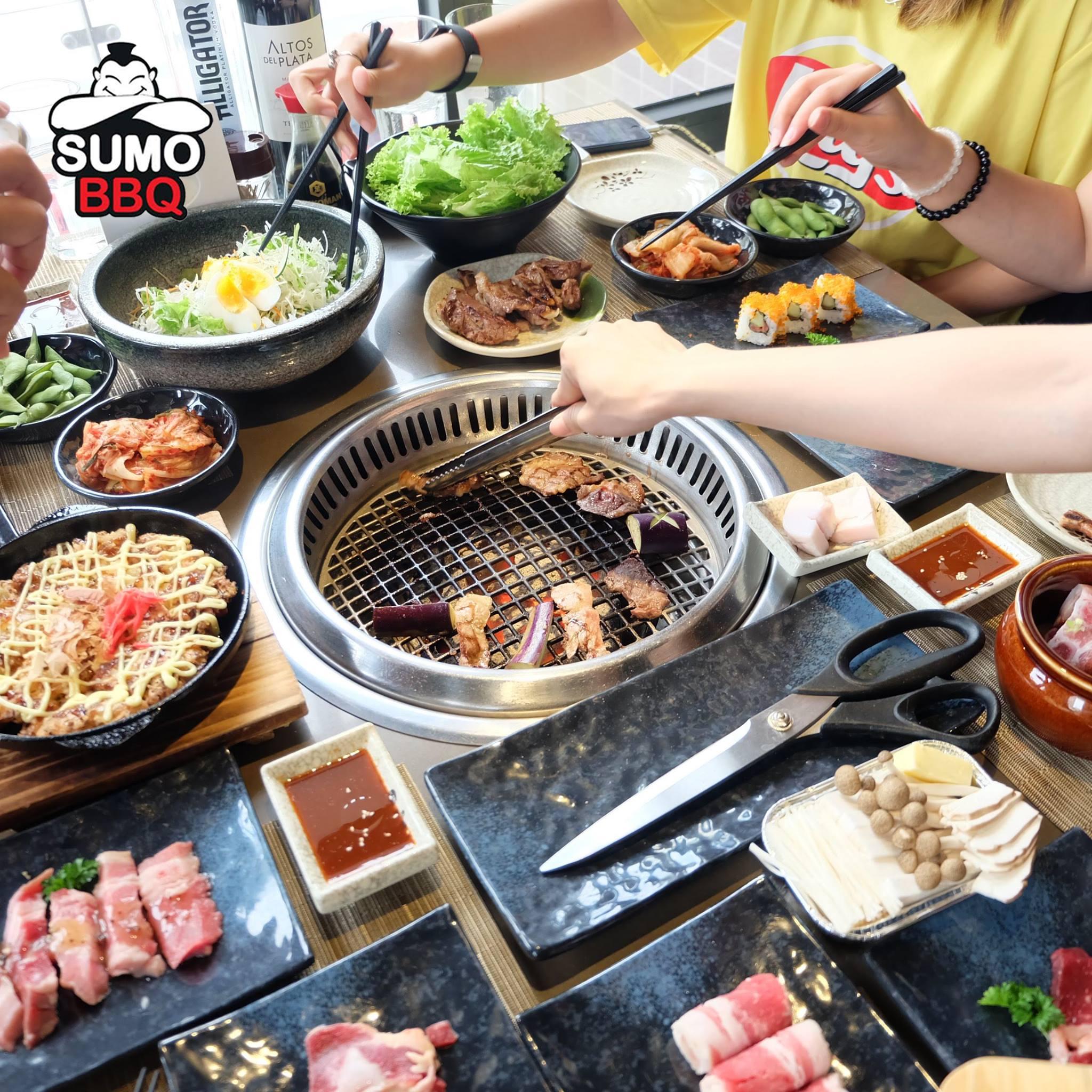 Sumo BBQ món ăn