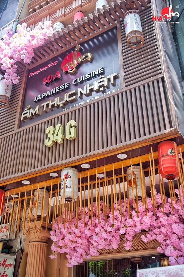 Wa Japanese Cuisine địa chỉ