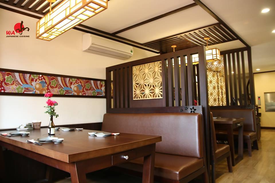 Wa Japanese Cuisine không gian