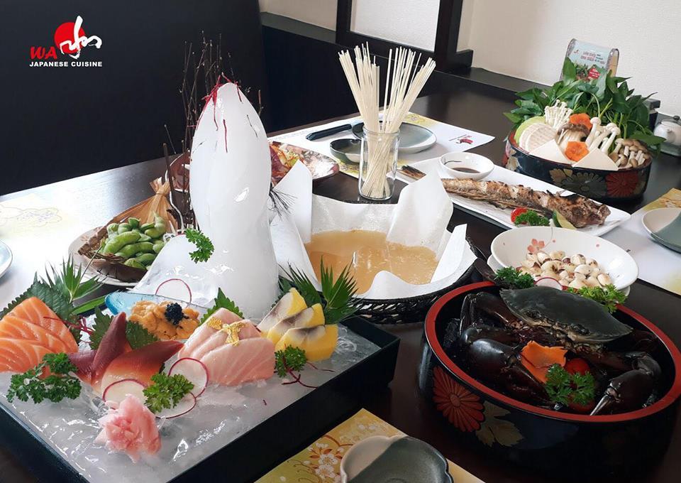 Wa Japanese Cuisine món ăn