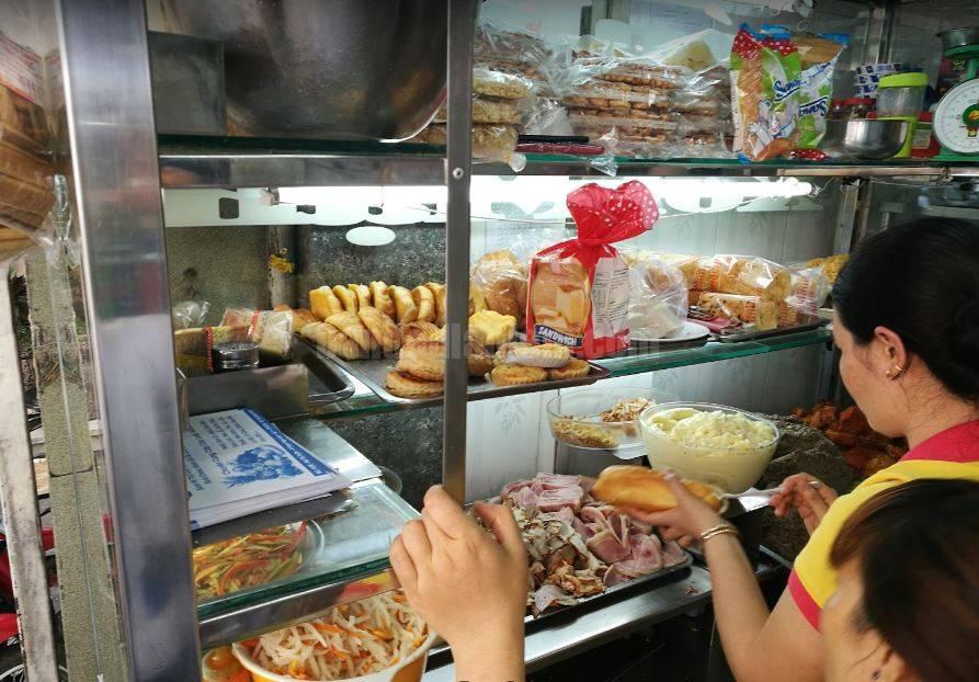 Bánh mỳ Huỳnh Hoa quận 1
