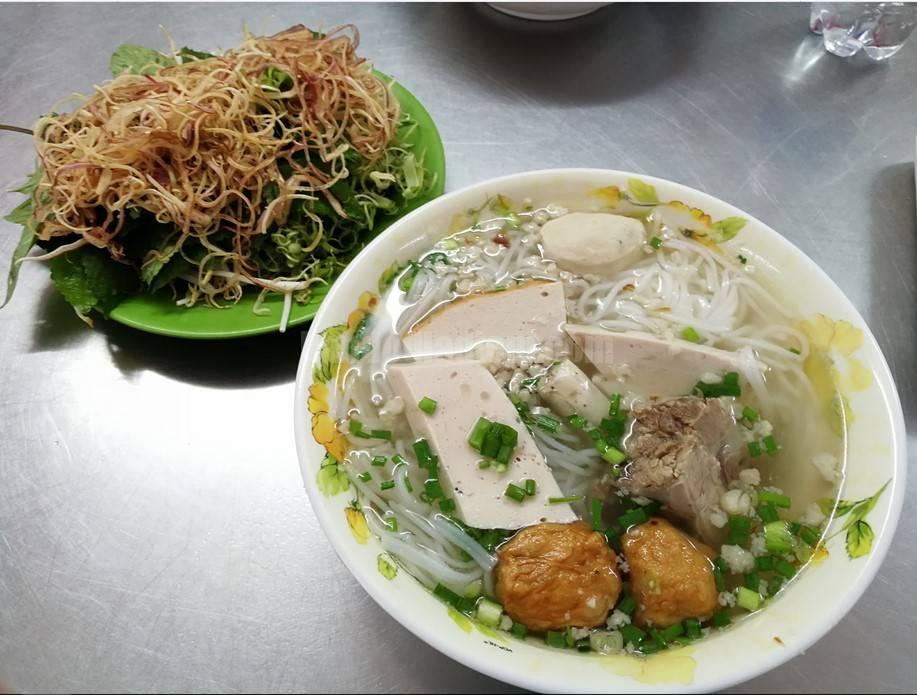 Quán bún mọc Thanh Mai review