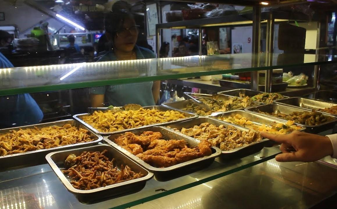 Cơm Chay Thanh Lương món ăn