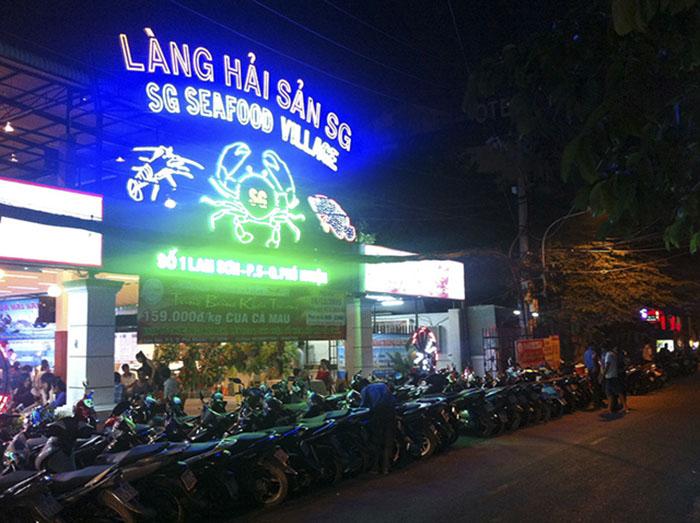 địa chỉ Làng hải sản Sài Gòn