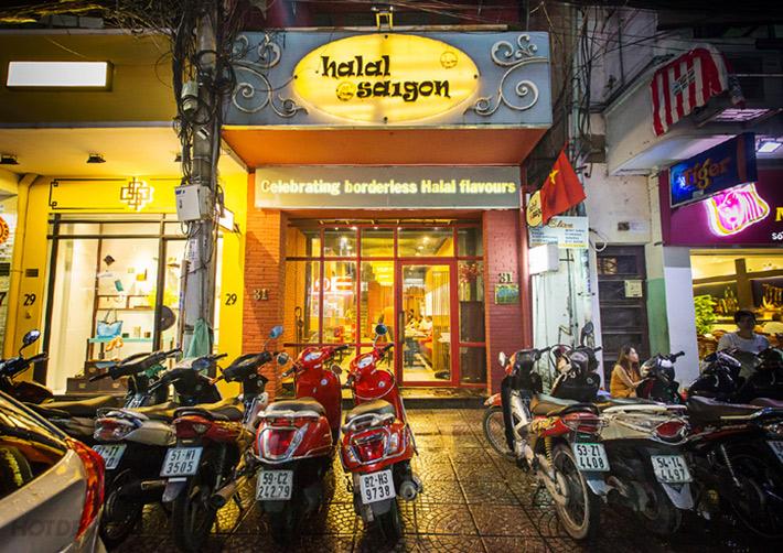 địa chỉ quán Halal Saigon