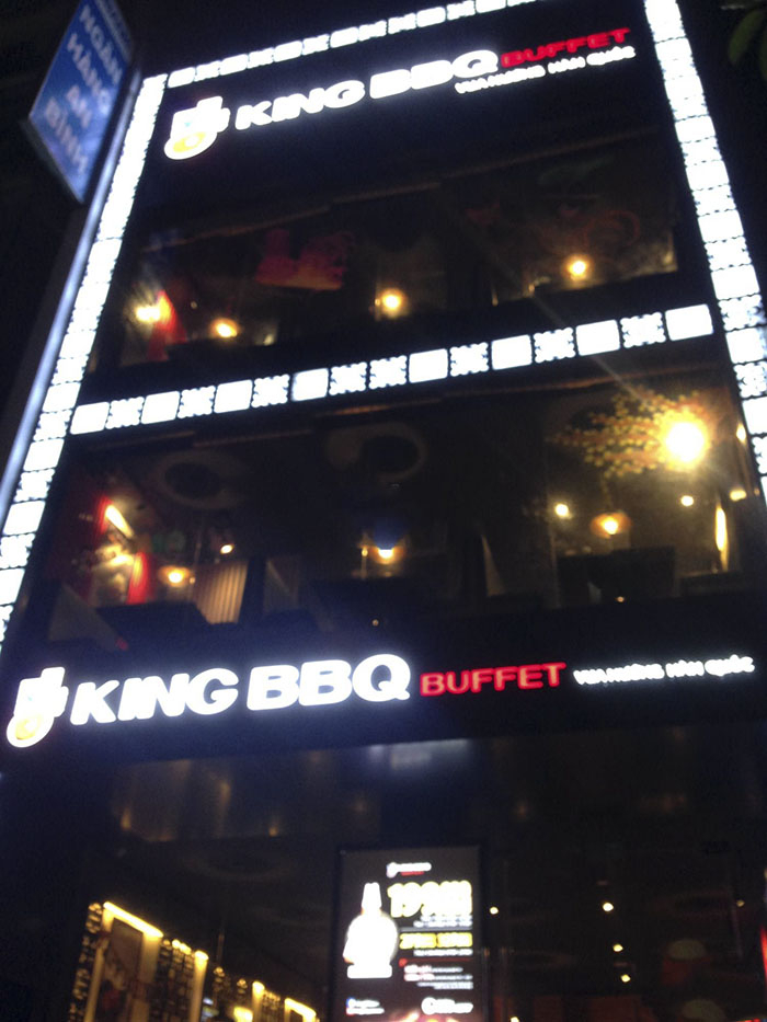địa chỉ quán King BBQ Buffet