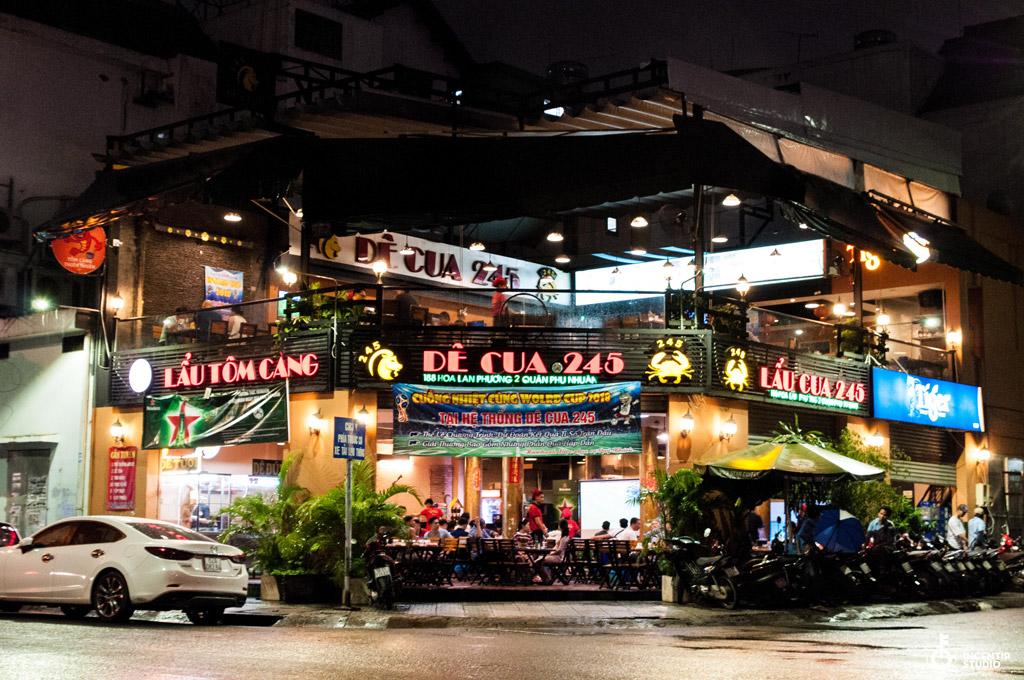 địa chỉ Lẩu Dê & Cua Hoa Lan