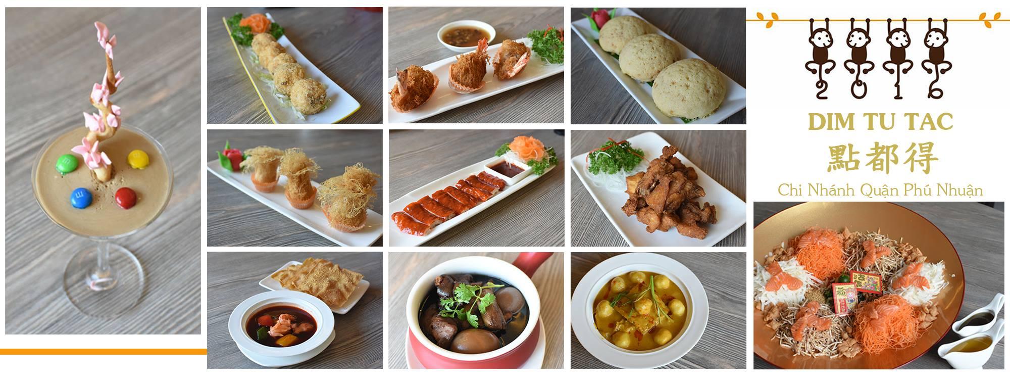 món ăn quán Dim Tu Tac ảnh1